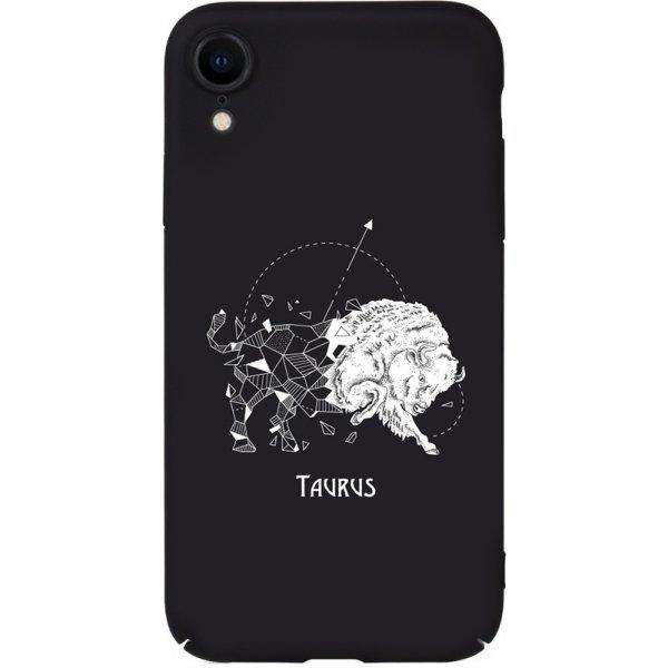 Чехол-накладка TOTO Full PC Print Case Apple iPhone XR #172_Taurus Black