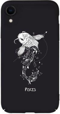Чехол-накладка TOTO Full PC Print Case Apple iPhone XR #170_Pisces Black