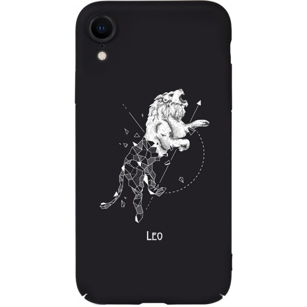Чехол-накладка TOTO Full PC Print Case Apple iPhone XR #167_Leo Black