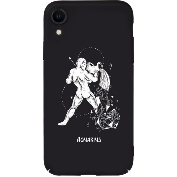 Чехол-накладка TOTO Full PC Print Case Apple iPhone XR #164_Aquarius Black