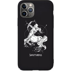 Чехол-накладка TOTO Full PC Print Case Apple iPhone 11 #171_Sagittarius Black