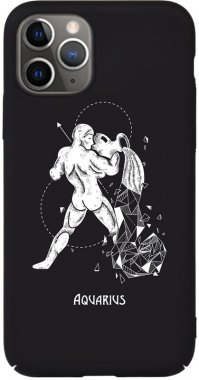 Чехол-накладка TOTO Full PC Print Case Apple iPhone 11 #164_Aquarius Black