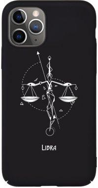 Чехол-накладка TOTO Full PC Print Case Apple iPhone 11 Pro #163_Libra Black
