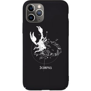 Чехол-накладка TOTO Full PC Print Case Apple iPhone 11 Pro #161_Scorpius Black