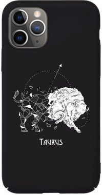 Чехол-накладка TOTO Full PC Print Case Apple iPhone 11 Pro Max #172_Taurus Black