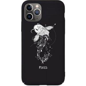 Чехол-накладка TOTO Full PC Print Case Apple iPhone 11 Pro Max #170_Pisces Black