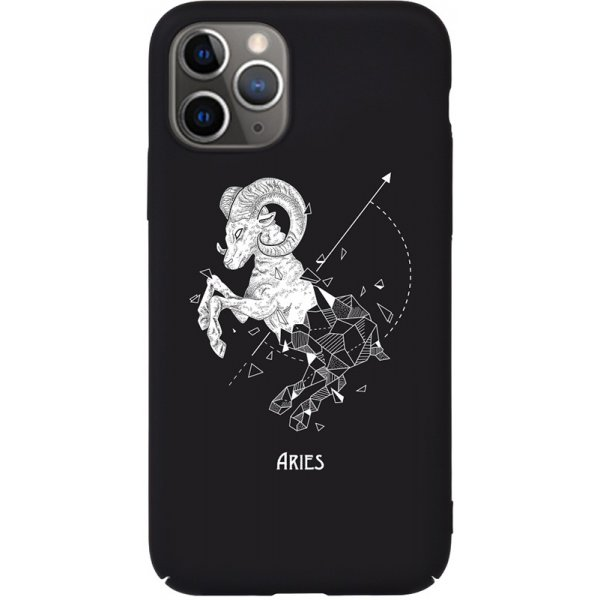 Чехол-накладка TOTO Full PC Print Case Apple iPhone 11 Pro Max #168_Aries Black