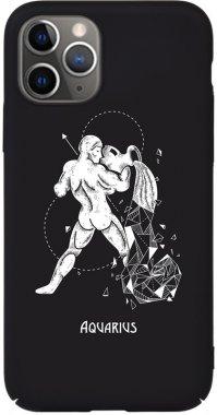 Чехол-накладка TOTO Full PC Print Case Apple iPhone 11 Pro Max #164_Aquarius Black