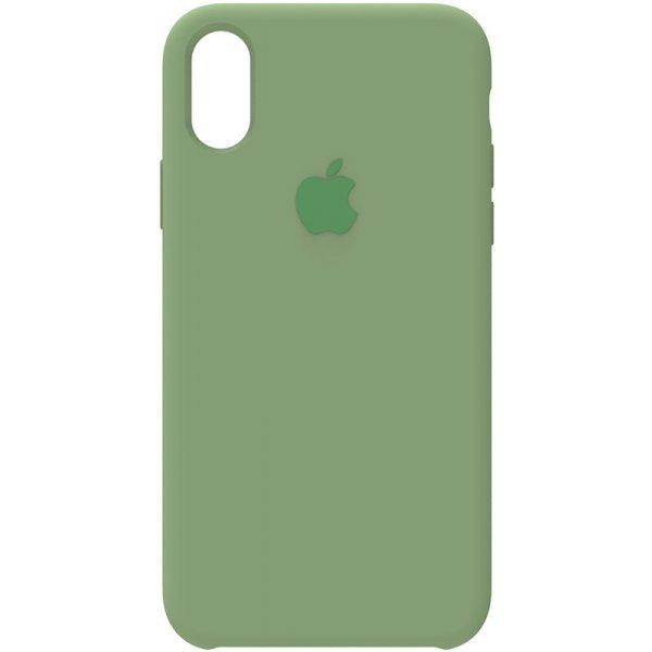 Чехол-накладка TOTO Silicone Case iPhone X/XS Spearmint