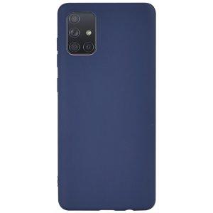 Чехол-накладка TOTO 1mm Matt TPU Case Samsung Galaxy A71 Navy Blue