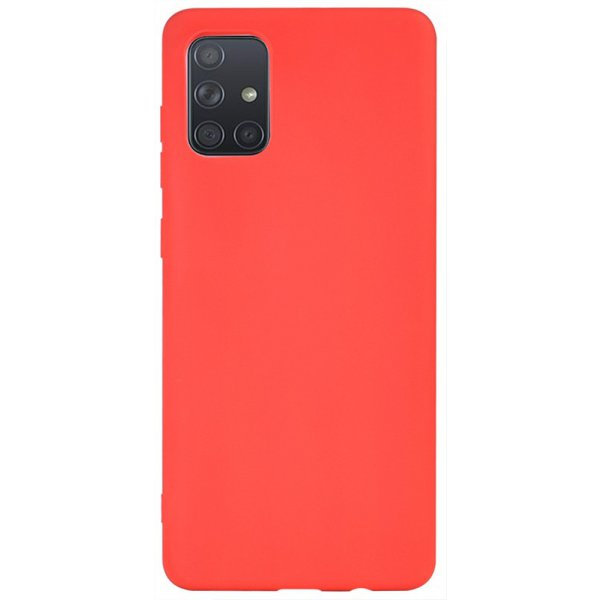 Чехол-накладка TOTO 1mm Matt TPU Case Samsung Galaxy A71 Red