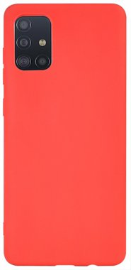 Чехол-накладка TOTO 1mm Matt TPU Case Samsung Galaxy A51 Red