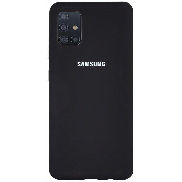 Чехол-накладка TOTO Silicone Full Protection Case Samsung Galaxy A51 Black
