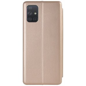 Чехол-книжка TOTO Book Rounded Leather Case Samsung Galaxy A71 Gold