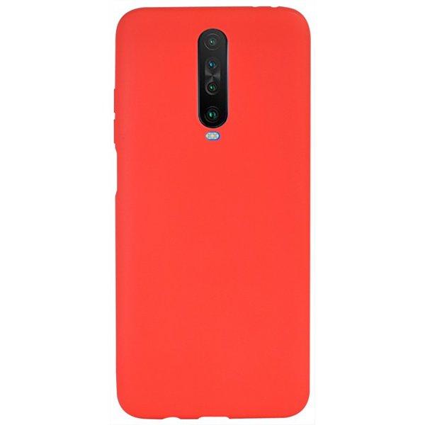 Чехол-накладка TOTO 1mm Matt TPU Case Xiaomi Redmi K30/K30 5G Red