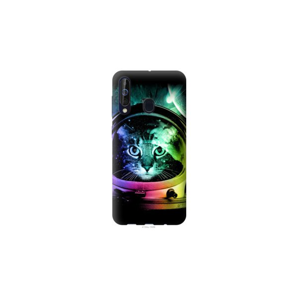 Чехол на Samsung Galaxy A60 2019 A606F Кот-астронавт (4154u-1699-39976)