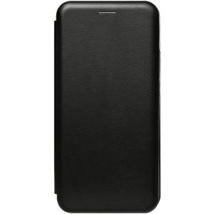 Чехол-накладка TOTO Book Rounded Leather Case Samsung Galaxy F41 Black