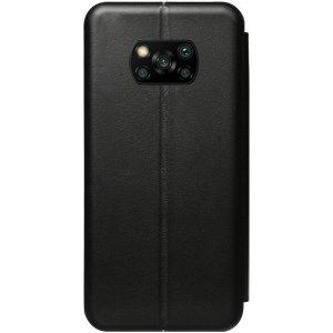 Чехол-накладка TOTO Book Rounded Leather Case Xiaomi Poco X3 Black
