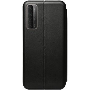 Чехол-накладка TOTO Book Rounded Leather Case Huawei P Smart 2021 Black