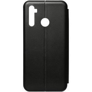 Чехол-накладка TOTO Book Rounded Leather Case Realme 5 Black