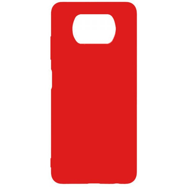 Чехол-накладка TOTO 1mm Matt TPU Case Xiaomi Poco X3 Red