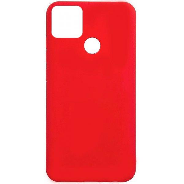 Чехол-накладка TOTO 1mm Matt TPU Case Realme Q2i Red