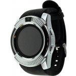 Смарт-часы UWatch V8 Black/Silver
