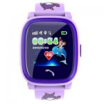 Смарт-часы GoGPS ME K25 Пурпурные (К25ПР)