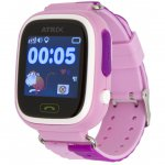 Смарт-часы ATRIX SW iQ400 Touch GPS Pink