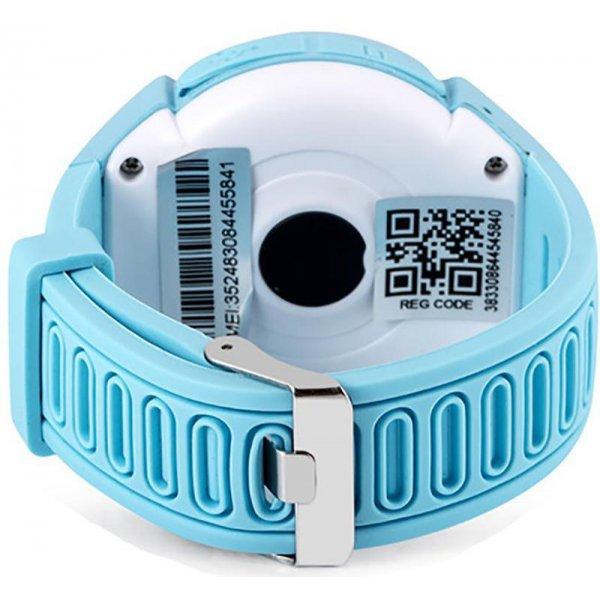 Смарт-часы UWatch Q610 Kid wifi gps smart watch Blue