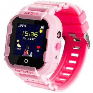 Смарт-часы Wonlex KT03 Kid sport smart watch Pink