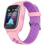 Смарт-часы Wonlex KT04 Kid sport smart watch Pink