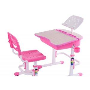 Комплект парта и стул-трансформеры FunDesk Capri Pink