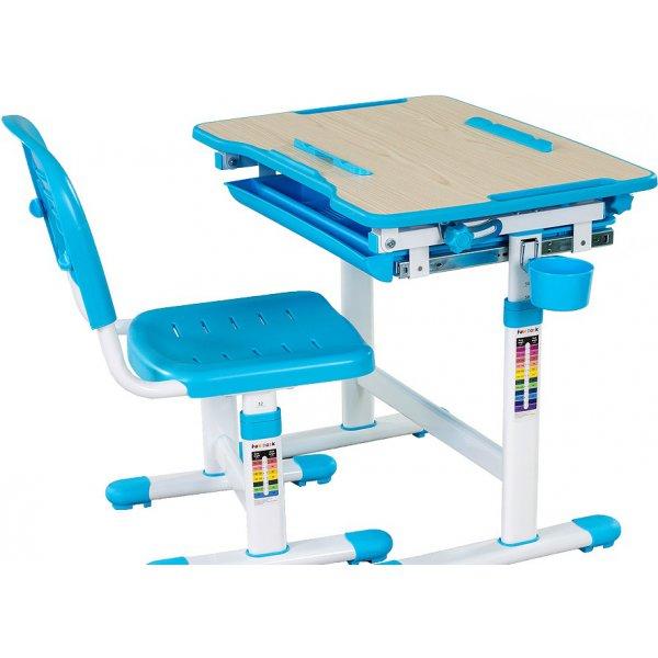 Комплект парта и стул-трансформеры FunDesk Bambino Blue