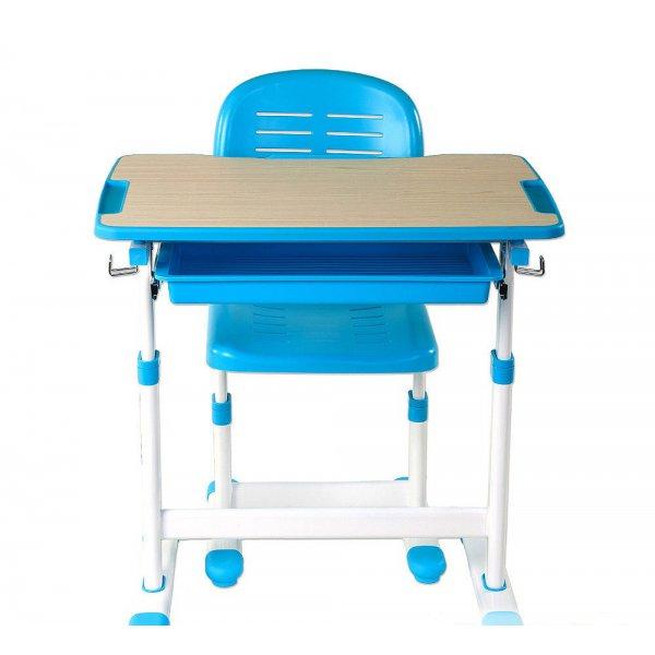 Комплект парта и стул-трансформеры FunDesk Piccolino Blue