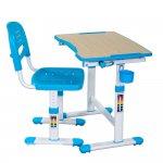 Комплект парта и стул-трансформеры FunDesk Piccolino II Blue