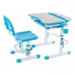 Комплект парта и стул-трансформеры FunDesk Sorriso Blue