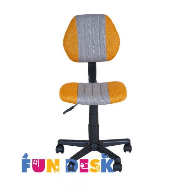 Детское кресло FunDesk LST4 Yellow-Grey