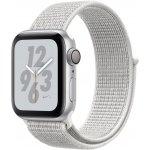 Смарт-часы Apple Watch Nike+ Series 4 GPS + LTE 40mm Silver Alum. w. Summit White Nike Sport l. (MTX72) Б/У