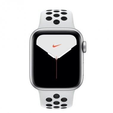 Смарт-часы Apple Watch Nike Series 5 GPS 40mm Silver Aluminum w. (MX3R2)