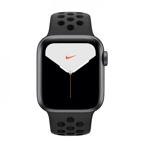 Смарт-часы Apple Watch Series 5 Nike+ 44mm GPS+LTE Space Gray Aluminum Case with Anthracite/Black Nike Sport Band (MX3A2)