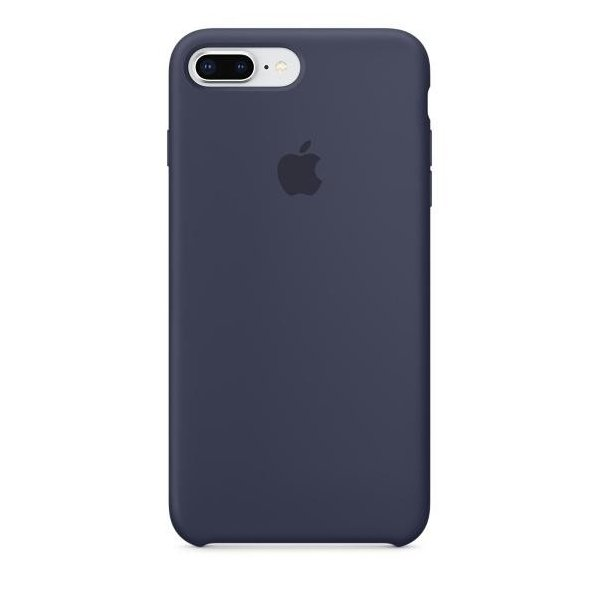Чехол для Apple iPhone 8 Plus Silicone Case Midnight Blue (MQGY2)