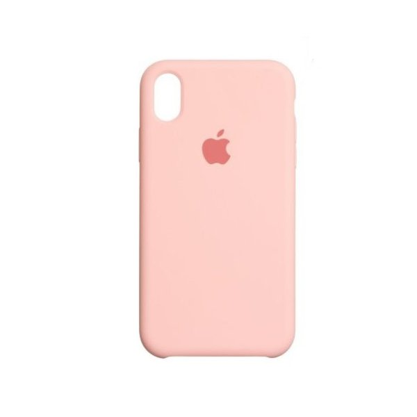"Чохол Apple Silicone Case для iPhone XR ""07"" Pink"