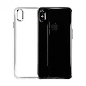 Apple Silicone Clear Case для iPhone X