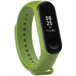 Ремешок UWatch Replacement Silicone Band For Xiaomi Mi Band 3 Dark Green
