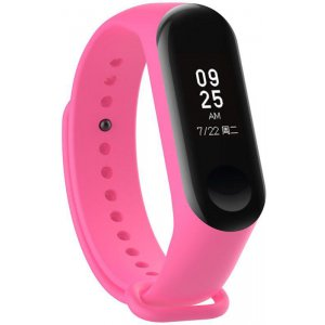 Ремешок UWatch Replacement Silicone Band For Xiaomi Mi Band 3 Pink