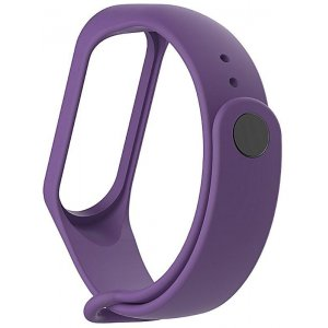 Ремешок UWatch Replacement Silicone Band For Xiaomi Mi Band 3 Purple