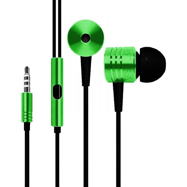 Наушники TOTO Earphone Mi3 Metal Green