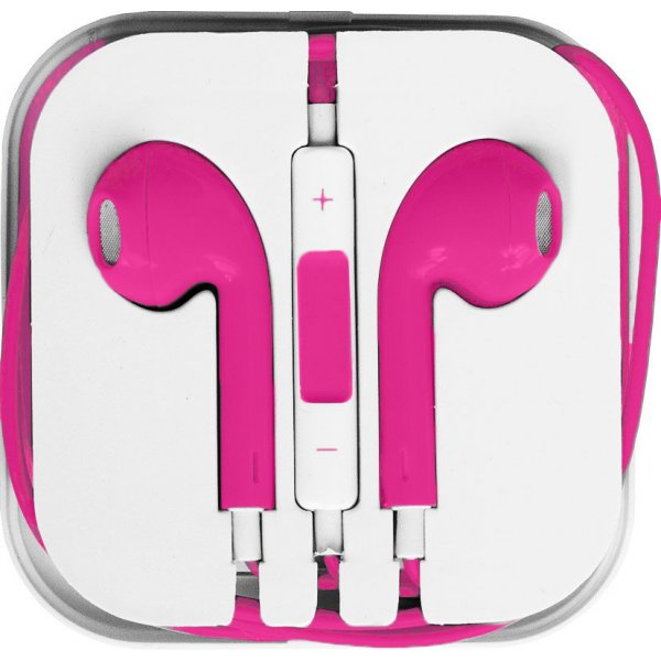 Наушники TOTO Earphone I5 Pink/Red