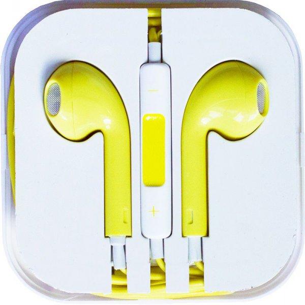 Наушники TOTO Earphone I5 Yellow